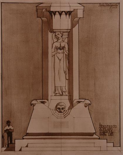 Museo filippo corridoni for Disegno del piano di soggiorno